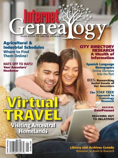 Internet Genealogy Magazine Subscriptions
