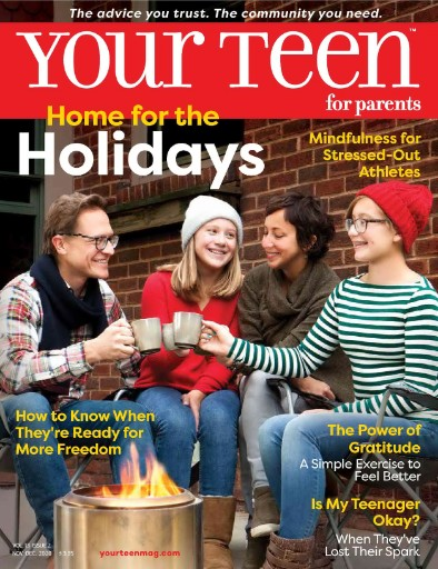 Your Teen for Parents Magazine Subscriptions