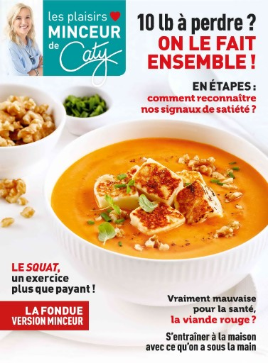 Les Plaisirs Minceur de Caty Magazine Subscriptions