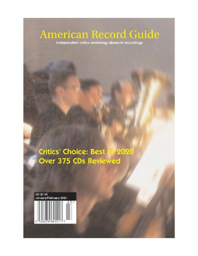 American Record Guide Magazine Subscriptions