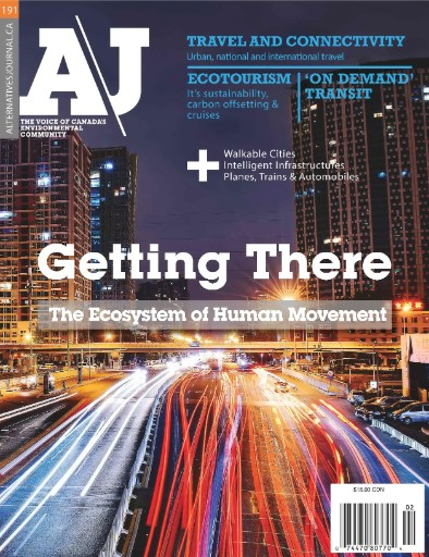 Alternatives Journal (AJ) - Canada's Environmental Voice Magazine Subscriptions