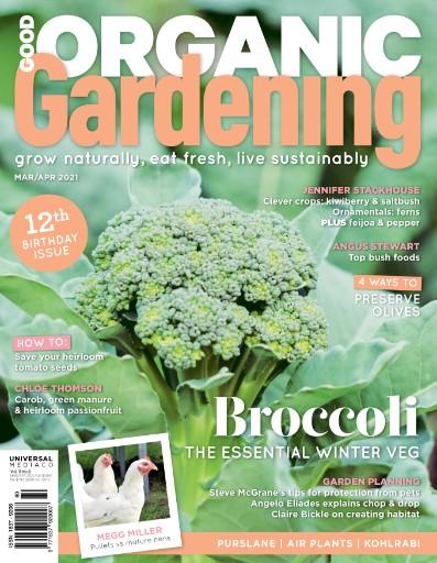 Good Organic Gardening Magazine Subscriptions