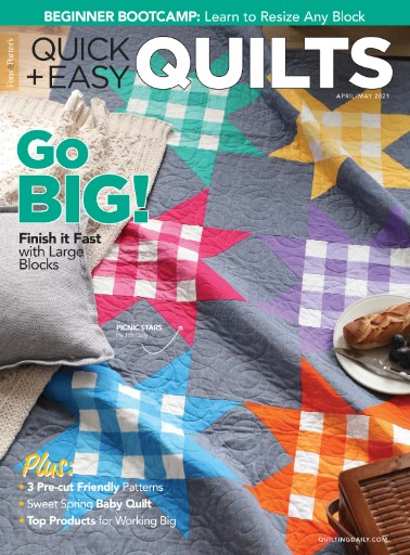 Fons & Porter's Quick + Easy Quilts Magazine Subscriptions