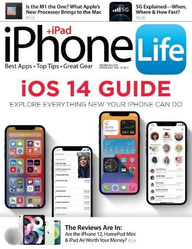 iPhone Life Magazine Subscriptions