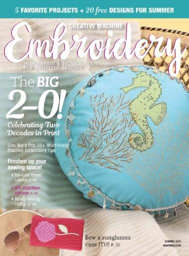 Creative Machine Embroidery Magazine Subscriptions