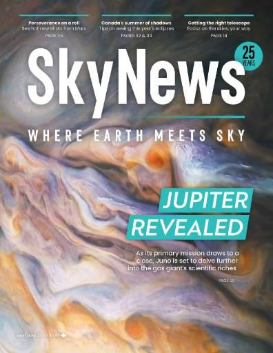 SkyNews: The Canadian Magazine of Astronomy & Stargazing Magazine Subscriptions