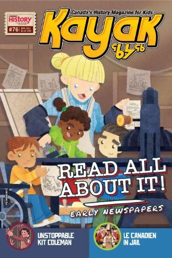 Kayak: Canada's History Magazine for Kids Magazine Subscriptions