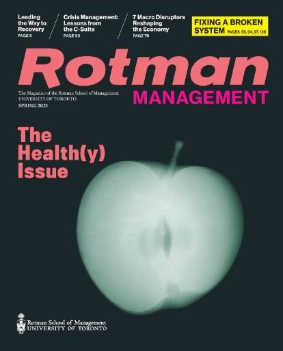 Rotman Management Magazine Subscriptions