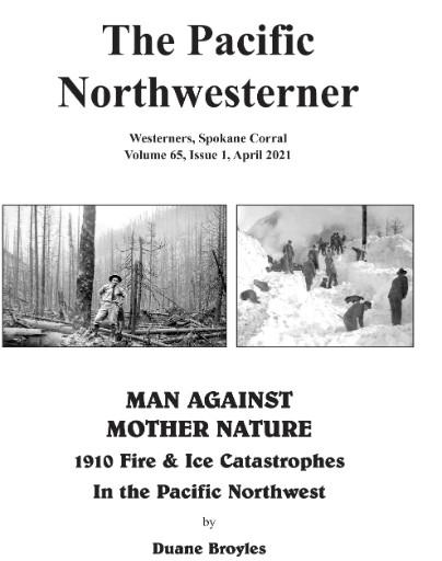 Pacific Northwesterner Magazine Subscriptions