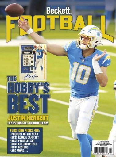 Beckett Football Magazine Subscriptions