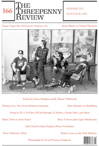 The Threepenny Review Magazine Subscriptions