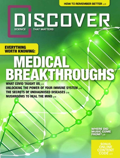 Discover Magazine Subscriptions