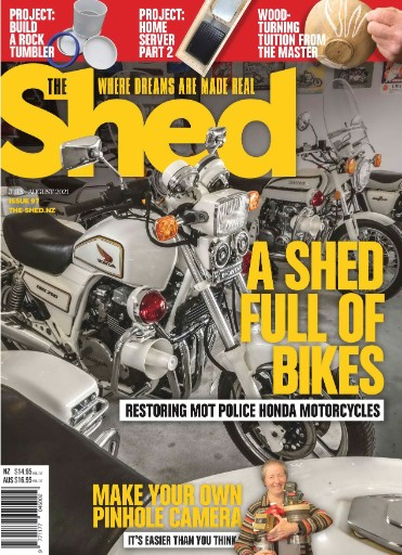 The Shed Magazine Subscriptions