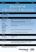 Journal of Character Education Magazine Subscriptions