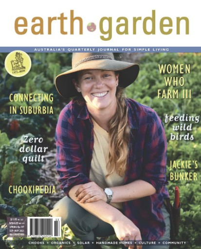 Earth Garden Magazine Subscriptions