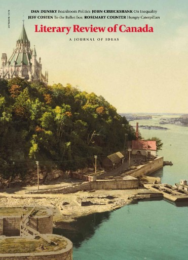 Literary Review of Canada Magazine Subscriptions