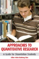 Approaches to Quantitative Research : A Guide for Dissertation Students
