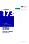 China im Zeichen von Globalisierung und Entwicklung. Herausforderungen für die statistische Analyse und empirische Forschung. Festschrift zum 70. Geburtstag von Ernst Hagemann