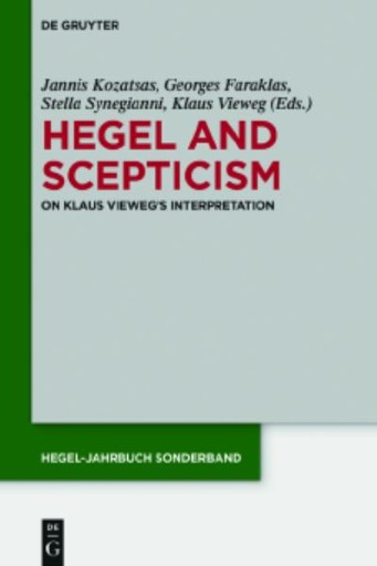 Hegel and Scepticism : On Klaus Vieweg's Interpretation