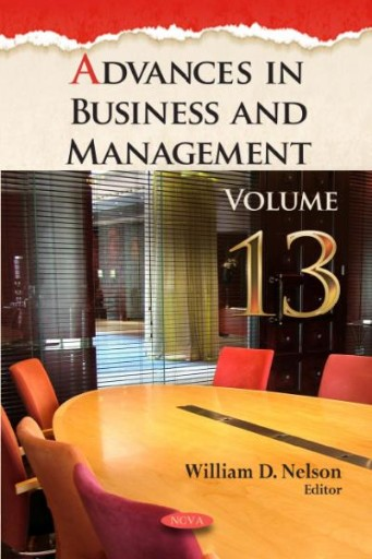 Advances in Business and Management. Volume 13