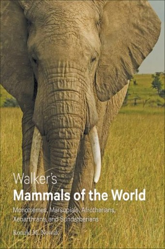 Walker's Mammals of the World : Monotremes, Marsupials, Afrotherians, Xenarthrans, and Sundatherians