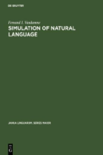 Simulation of Natural Language : A First Approach