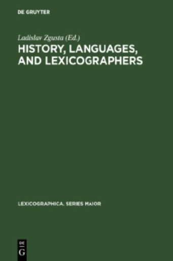 History, Languages, and Lexicographers