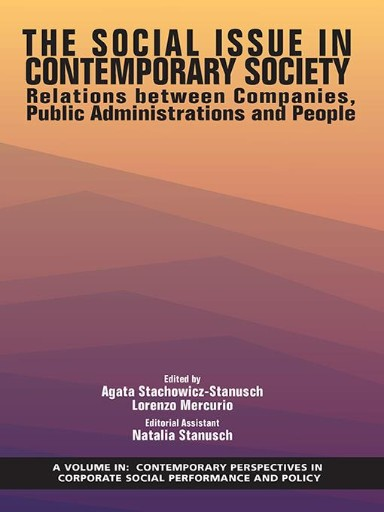 The Social Issue in Contemporary Society : Relations Between Companies, Public Administrations, and People