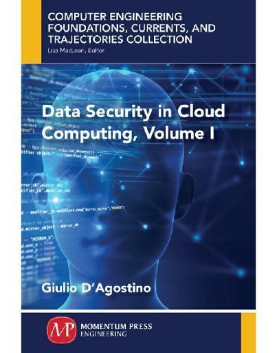 Data Security in Cloud Computing, Volume I