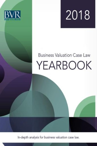 Business Valuation Case Law Yearbook