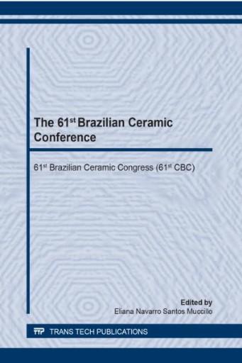 The 61st Brazilian Ceramic Conference