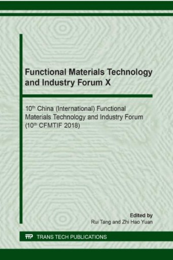 Functional Materials Technology and Industry Forum X