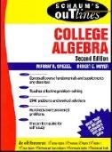 book cover: Schaum's Outline of College Algebra