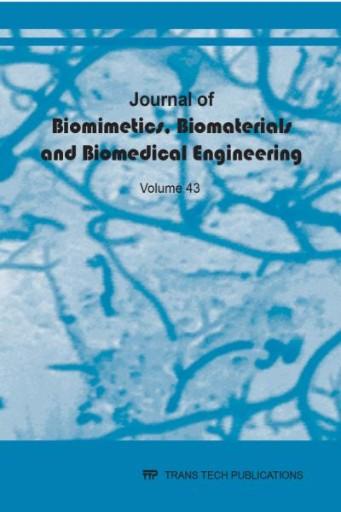 Journal of Biomimetics, Biomaterials and Biomedical Engineering Vol. 43