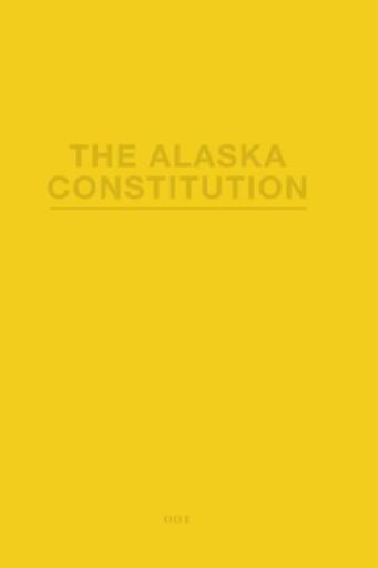 The Alaska Constitution