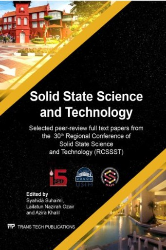 Solid State Science and Technology XXX