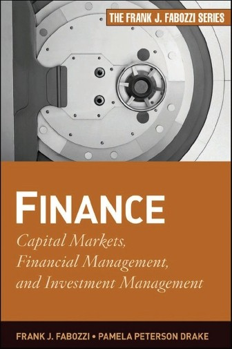 cover art for Finance : Capital Markets, Financial Management, and Investment Management